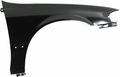 Fender For 99-2004 Nissan Pathfinder Front Right Primed Steel with Molding Holes