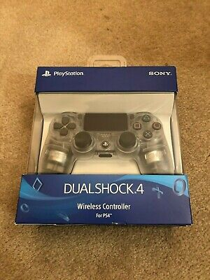 Sony DualShock 4 Wireless Controller - Crystal for PlayStation 4 PS4