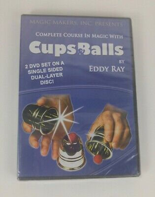 Complete Course in Magic with Cups and Balls, 2 DVD Set, DVD only