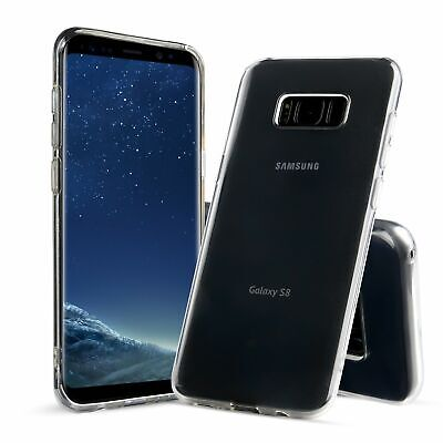 Ultra-Thin Clear Soft Silicone Case Cover For Samsung Galaxy S8 NEW   1pc