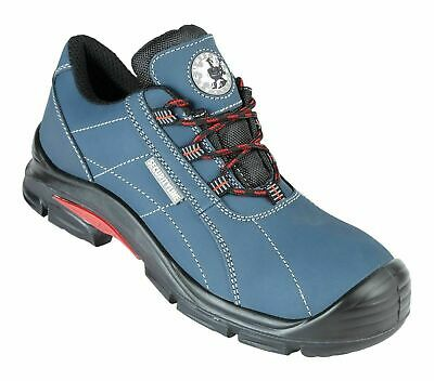 Himalayan 4038 S1 SRC Black Leather Steel Toe Cap Sports Safety Trainers Shoes