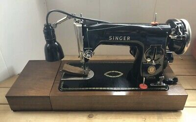 Vintage Singer 215G Heavy Duty Semi-Industrial Electric Sewing Machine