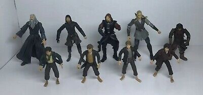 The Lord of The Rings The Fellowship of The Ring Figures 2001 2002 NLP Marvel