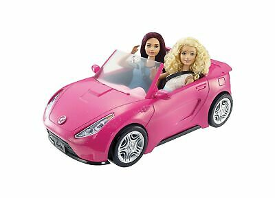 Barbie DVX59 Autre Glam Convertible Sports, Toy Vehicle for Doll, Pink Car