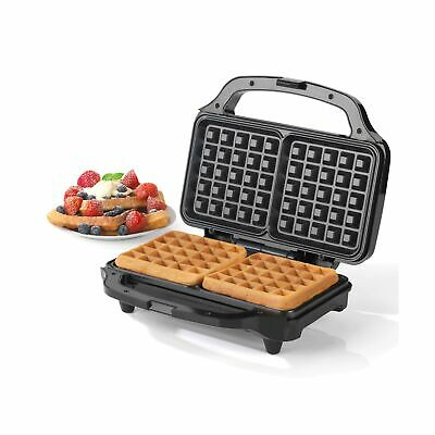 Salter EK2249 Deep Fill Waffle Maker with XL Non-Stick Cooking Plates, 900 W,...