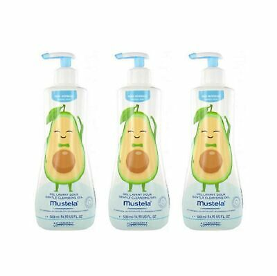 Mustela Gentle Cleansing Gel 3 x 500ml 3 x 500 mL