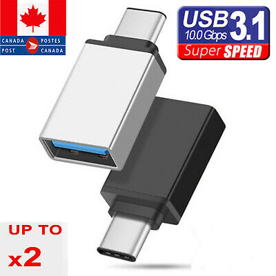 USB Type-C to USB 3.1 Type-A Female OTG Adapter For iPod iPad Mac Samsung Phones