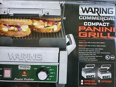 Waring Commercial WFG150 Panini Grill
