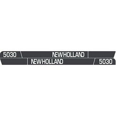 New 5030 New Holland Tractor Hood Decal Kit 5030 High Quality Vinyl Hood Decals