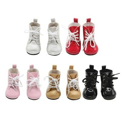 1 Pair Mini Shoes Boots For 18 Inch Doll Toy Girl & Boy Gifts Dolls Accessoy