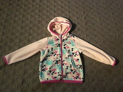 The North Face Girls Baby Fleece Jacket 18-24 Months