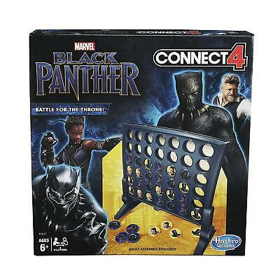 Connect 4: Black Panther Edition Wakanda Game Hasbro 7EOLzl1