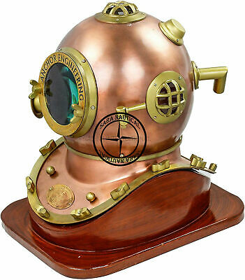 Marine Scuba SCA Divers Taucherhelm US Navy Mark V Deep Sea Home Sammlerstück