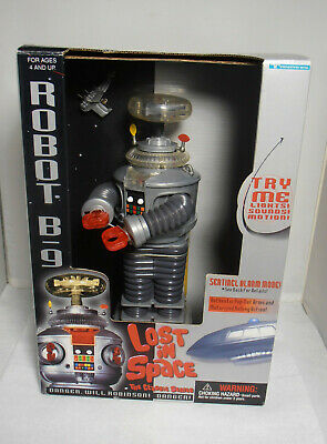 1997 Lost in Space Trendmasters Robot with Working Lights and Sounds
