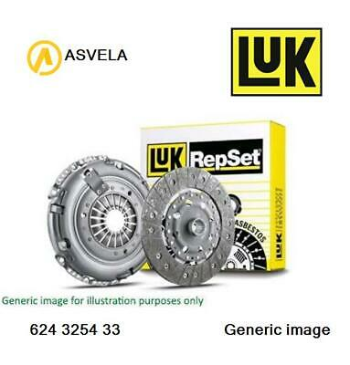 VOLVO XC70 295 2.4D Clutch Kit 3pc 02 to 07 D5244T 240mm LuK Cover+Plate+CSC