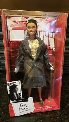 Rosa Parks Barbie Inspiring Women Series Doll New In Box Mattel