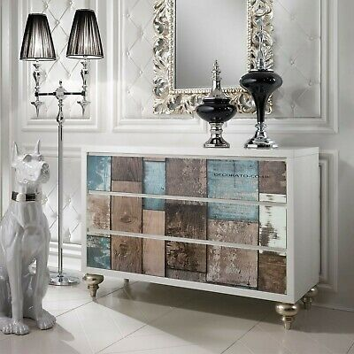 3D White Worn Wood Distressed 3D Sticky Back Plastic Fablon Wallpaper Old Tiles