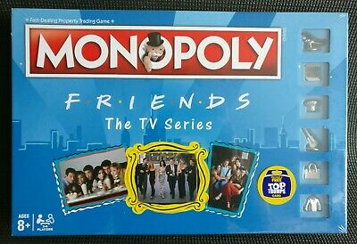 Official Monopoly FRIENDS The TV Series Board Game Includes Free Top Trumps Card