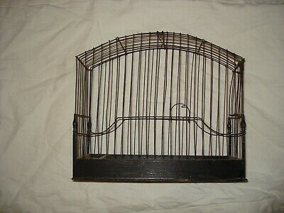 late 19th -- early 20th century wirework canary/linnet cage