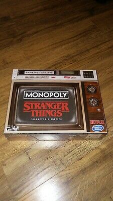Monopoly Stranger Things Collector's Edition Hasbro (NEW - Factory Sealed)