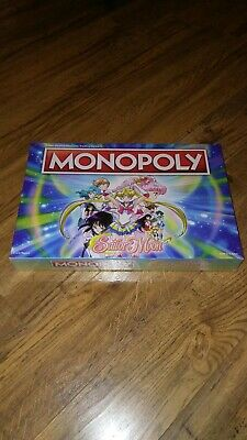 Monopoly Sailor Moon Edition USAopoly Collectible (NEW - Factory Sealed)