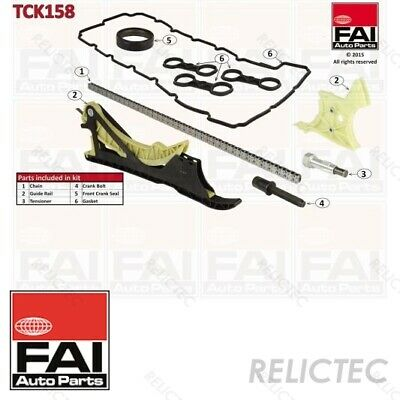 Timing Chain Kit TC0940K BGA 11317516074 11317584084 11318648732 11317584723 New