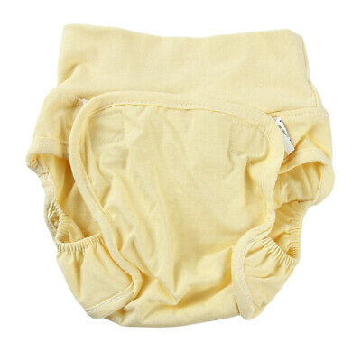 Adjustable Diaper Pants Incontinence Nappy Washable Dual Opening Pocket SS3