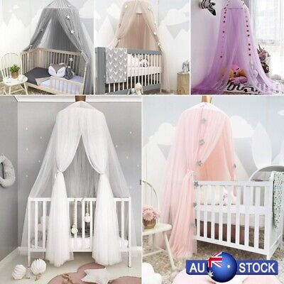 Hanging Baby Bed Canopy Mosquito Net Dome Dream Curtain Tent Children Room AU