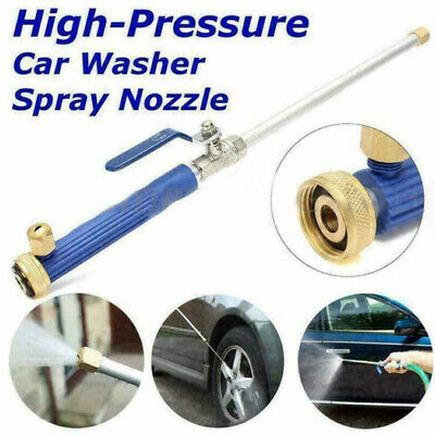 2 In 1 High Pressure Power Water Washer Car Wand Nozzles Spray Gun Flow Control