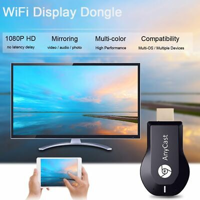 Streamer 1080P WiFi Display Receiver TV Stick Miracast Airplay DLNA HDMI Dongle