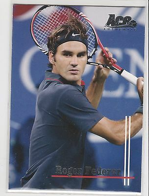 2011 Ace Authentic Match Point 2 #60 Roger Federer Base