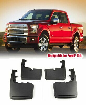OEM Splash Guard Mud Flap Molded Black Rear Pair for 13-15 Ford Fusion New