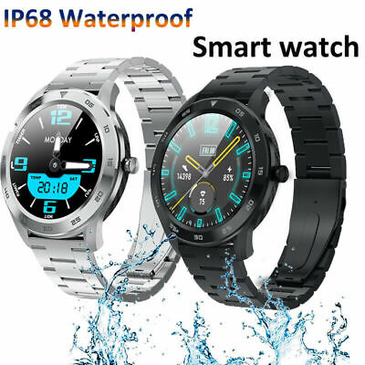 HD Display Bluetooth Smart Watch Full Touch Watch Blood Pressure For Android iOS