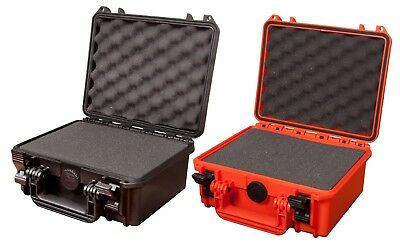 Waterproof Dustproof IP67 Rated Small Hard Protective Camera Case with Foam!