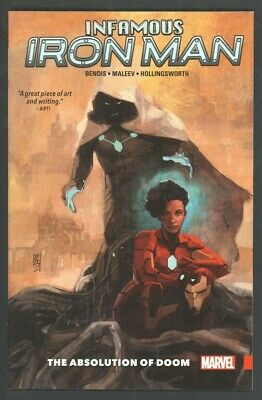 Infamous Iron Man The Absolution Of Doom First Printing 2017 Marvel Tpb
