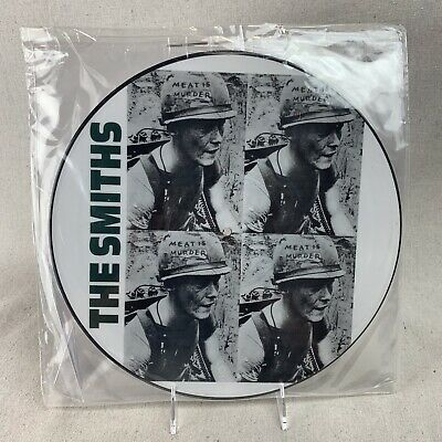 """The Smiths, """"Meat Is Murder"""", 12"""" Picture Disc Vinyl, Rough 81-P"""