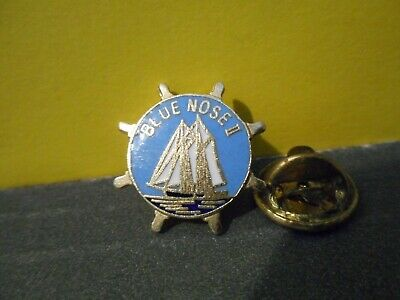 Blue Nose II,Nova Scotia Sailing Ship Lapel Pin