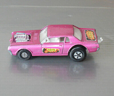 Repro Box Matchbox Speed Kings K 21 Cougar Dragster