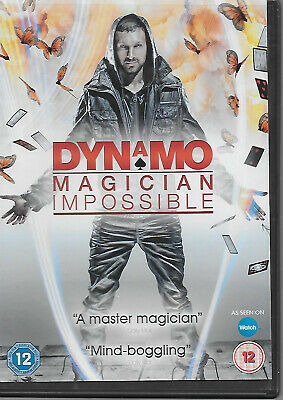 Dynamo - Magician Impossible: Series 1 DVD (2011) Ian Brown 2 Disc Set