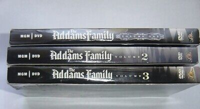 The Addams Family - Volumes 1,2,3 DVD (Complete series)