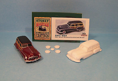 SMC-639 1952 Ford Courier Delivery  HO-1//87th Scale White Resin Kit unfinished