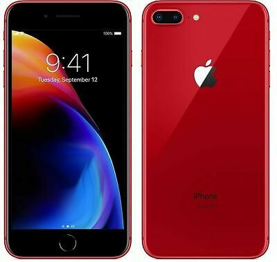 Apple iPhone 8 Plus (PRODUCT)RED  64GB  GSM UNLOKCED A1897