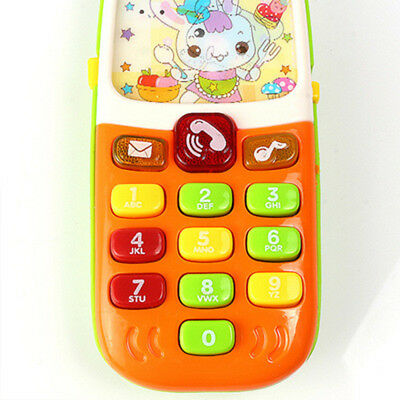 Funny Children Kids Toy Phone Educational Learning Music Toy Electronic Toy n