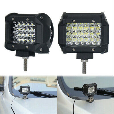 "4"" 200W LED Work Light Bar Flood Spot Combo Off-road Driving Lamp Car Truck SUV"