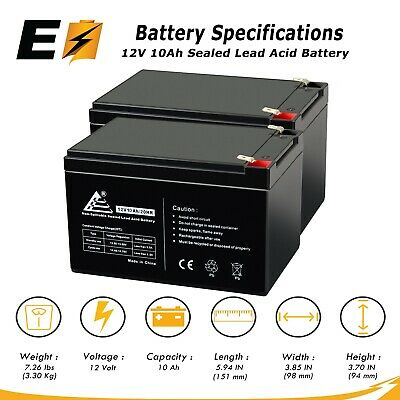 SUVS1000-10 Pack Brand Product SU700 Mighty Max Battery 12V 12AH SLA Battery Replaces APC SC620NET