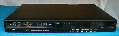 Sansui Black Digital Synthesizer Tuner Tu-S77Amx Very Good Cond