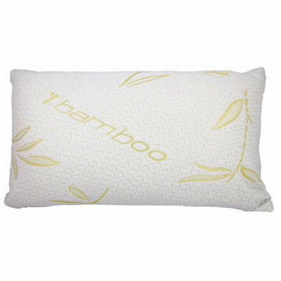 Luxury Bamboo Shredded Memory Foam Core Pillow Orthopaedic Neck Support Pillow