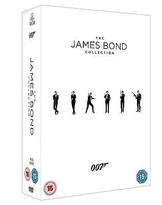 James Bond 24 Complete Film Collection Dvd Box Set New And Sealed Inc Spectre