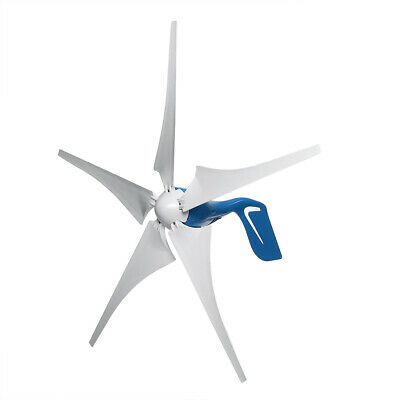 400W DC 12V/24V 5 Blades Wind Turbine Generator Power with Charge Controller Set