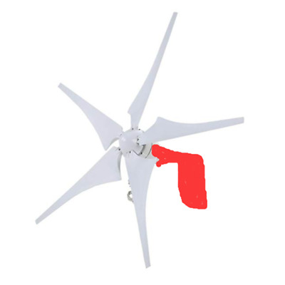 12v/24v 400w Wind Turbine Power Supply Generator  5-Blades Household with Contro